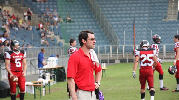 Jean-Baptiste Laporte, Physio de Team Canada