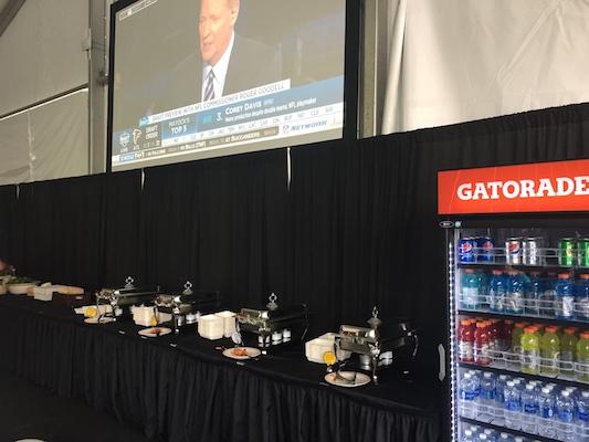 Buffet Média - Draft 2017