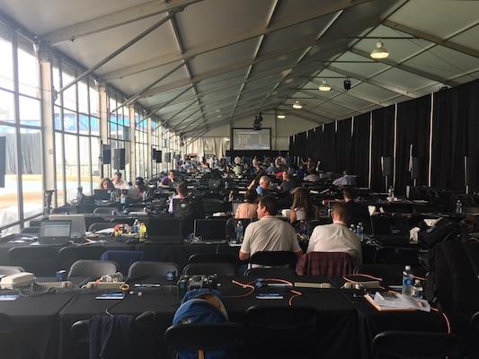 Salle Média - Draft 2017
