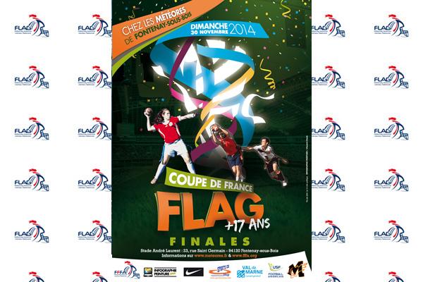 L'affiche de la finale de la Coupe de France