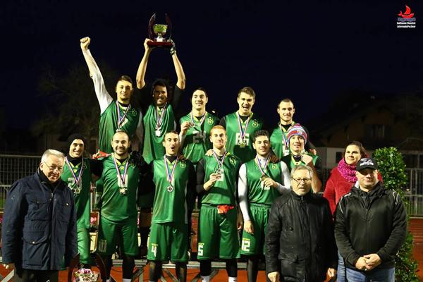 Les Sphinx, vainqueurs de la Coupe de France masculine 2015