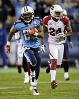 Le RB Chris Johnson sème les Cardinals