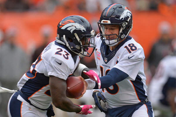 Peyton Manning (3 INT) a pu compter sur Ronnie Hillman (111 yards)