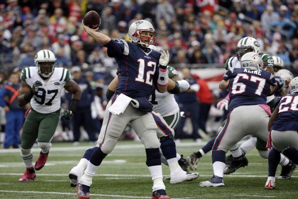 Brady a mené les Patriots à la victoire face aux Jets