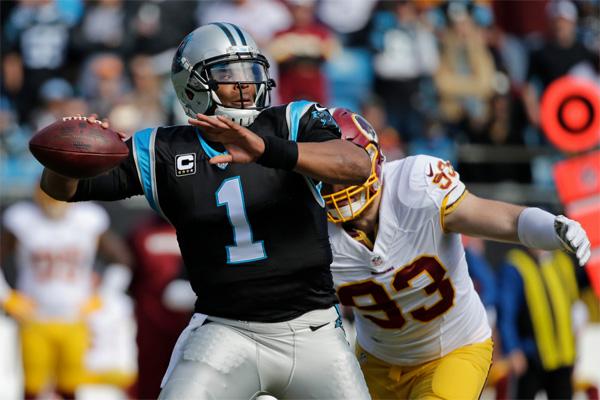 5 passes de TD pour Cam Newton, record des Panthers égalé