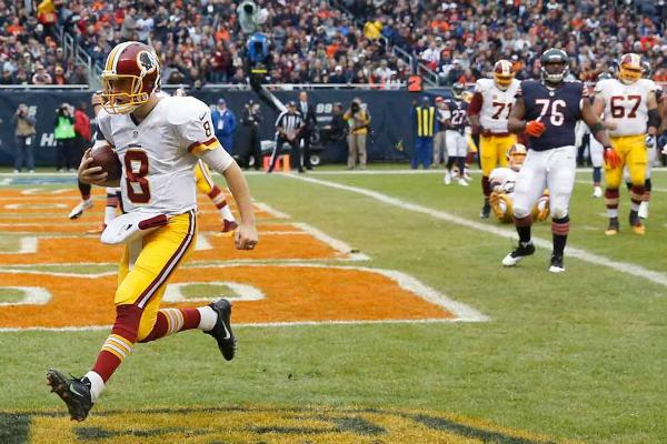 Kirk Cousins file au touchdown pour faire gagner Washington.