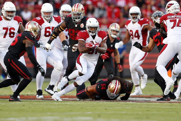 David Johnson: 157 yards et 2 TDs contre les 49ers