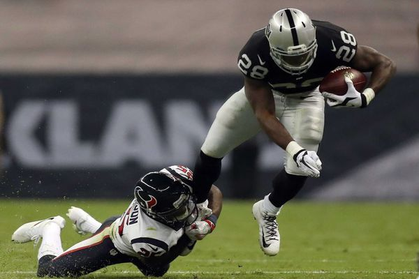 Latavius Murray jouera un rôle primordial dans l'attaque des Raiders ce samedi