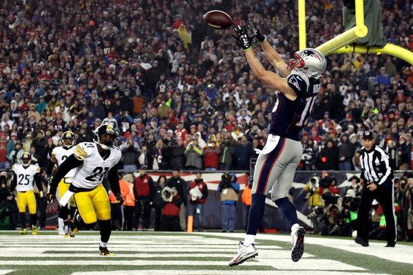Hogan, bourreau des Steelers avec ses 180 yards et 2 touchdowns