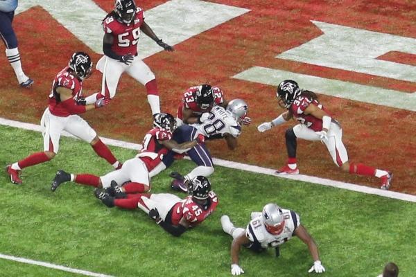 Le touchdown de la victoire