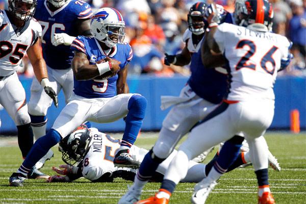 Tyrod Taylor a été excellent face aux Broncos