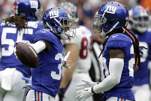 La défense des Giants a été décisive en seconde mi-temps