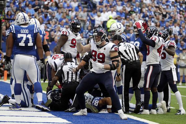 JJ Watt et les Texans enfin victorieux