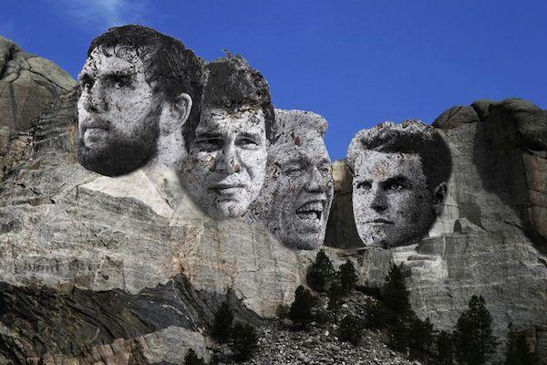 Le Mont Rushmore de Stanford : Andrew Luck, Jim Plunkett, John Elway et Glenn « Pop » Warner
