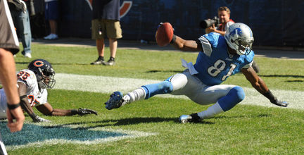 Calvin Johnson et le catch litigieux