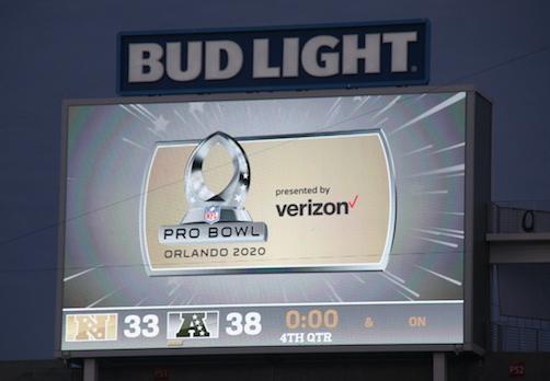 L'AFC remporte le Pro Bowl 2020