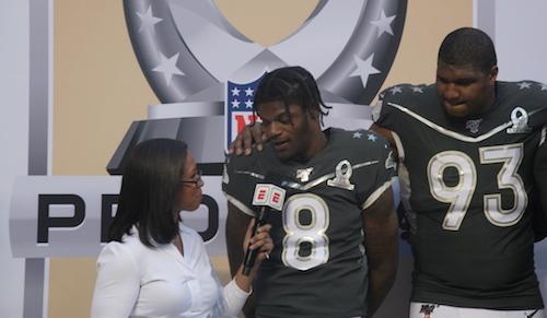 Lamar Jackson et Calais Campbell - MVPs du Pro Bowl 2020