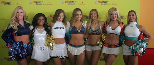 Les Cheerleaders du Pro Bowl 2020 (2/3)