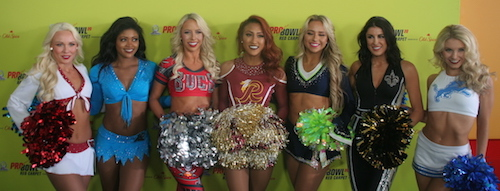 Les Cheerleaders du Pro Bowl 2020 (3/3)