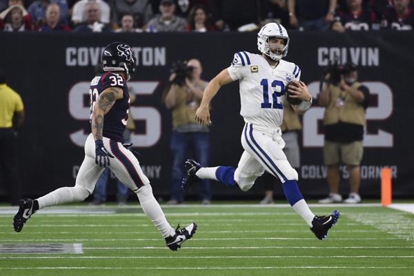 Luck et les Colts, premiers qualifiés de ce wild card round