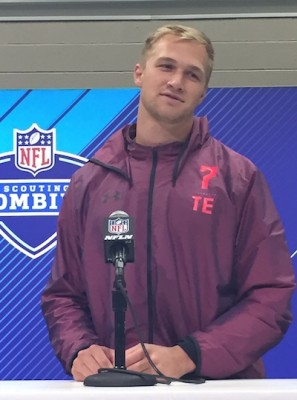 Mike Gesicki (Penn State), roi du NFL Scouting Combine 2018