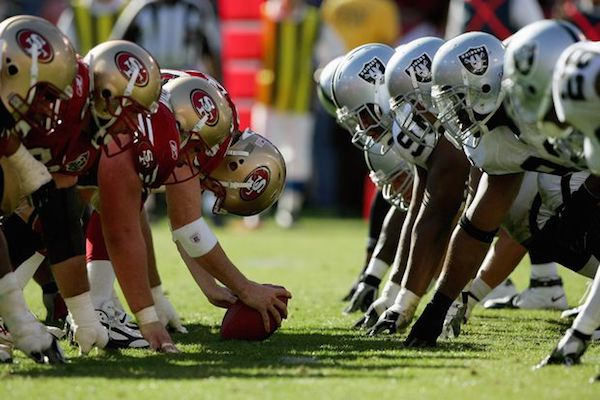 Niners vs Raiders