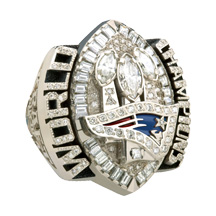 La bague des champions du Super Bowl 39