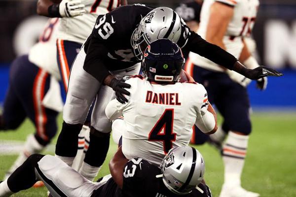 Chase Daniel sacké