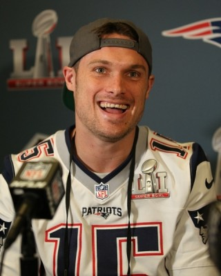 Patriots WR Chris HOGAN