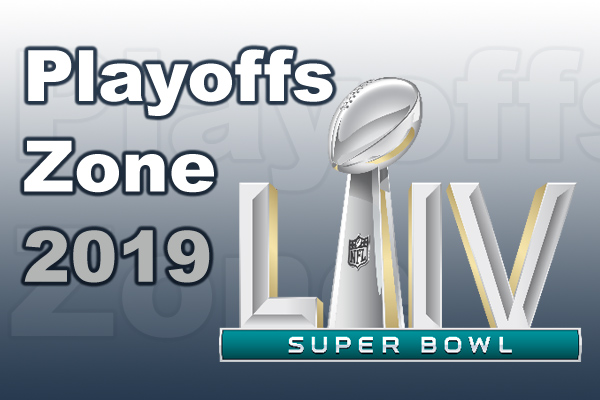 NFL Playoffs Zone 2019