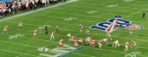 Les Chiefs en attaque au Super Bowl LIV