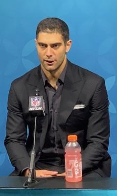 Jimmy Garoppolo analyse la défaite des 49ers au Super Bowl LIV