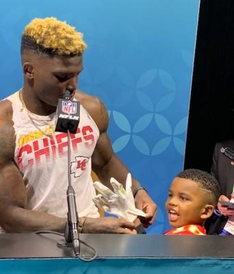 Le fils de Tyreek Hill prépare son propre Super Bowl LIV