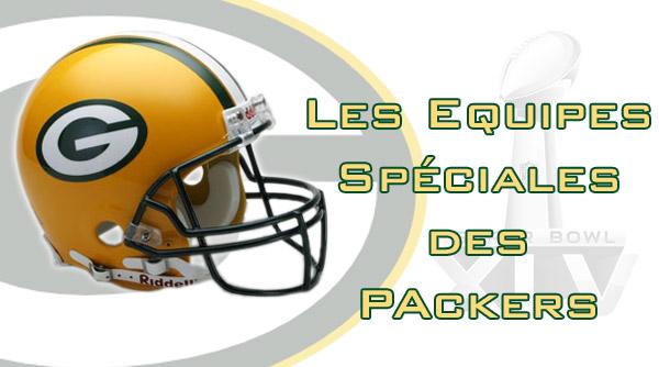Les équipes spéciales des Packers