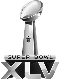 Logo du Super Bowl 45