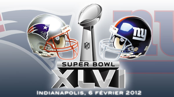 Super Bowl XLVI : New England Patriots vs New York Giants