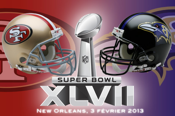 Super Bowl XLVII : San Francisco 49ers vs Baltimore Ravens