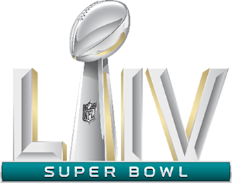 Logo du Super Bowl 54