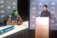Cox et Brady ont mis l'ambiance durant cette journée