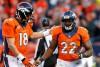 C.J. Anderson (3 TDs) félicité par Peyton Manning