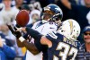Julius Thomas bat Eric Weddle sur une passe de P.Manning