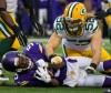 La défense des Packers menait par Clay Matthews s'est montrée solide.